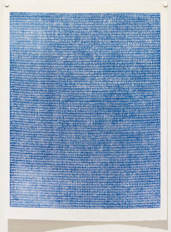 Bonolo Kavula, 'Untitled II' (2015), Linocut on Sumi-e paper, 45.5 x 32cm