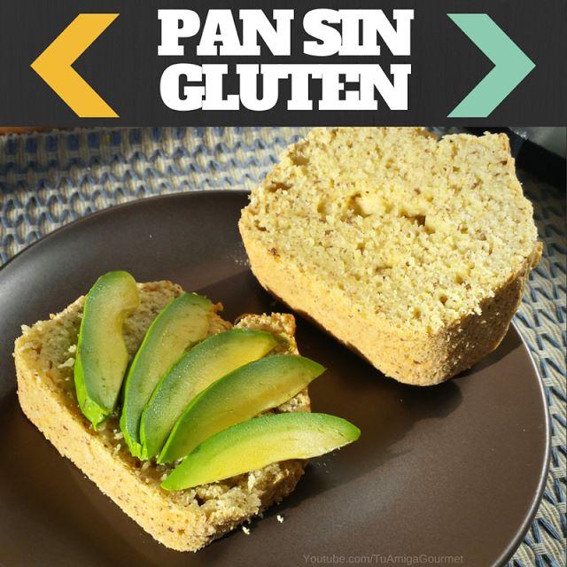 Cómo hacer Pan libre de gluten y de lácteos con harinas panificables #Singluten #Glutenfree #SinLácteos #Dairyfree