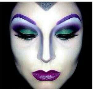 wow! that's the way to go Malifecent! #costume, #makeup Might never use this for Ghost Talk, but would love to wear this for a costume one day