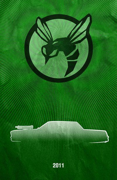 Movie Car Posters - Green Hornet by Boomerjinks.deviantart.com on @deviantART