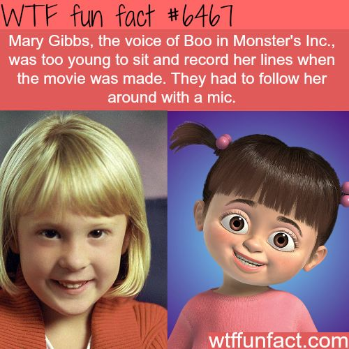 Mary Gibbs - WTF fun facts