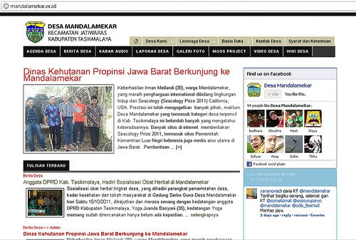 Desa Mandalamekar, Contoh Penerapan Citizen Journalism untuk Community Development