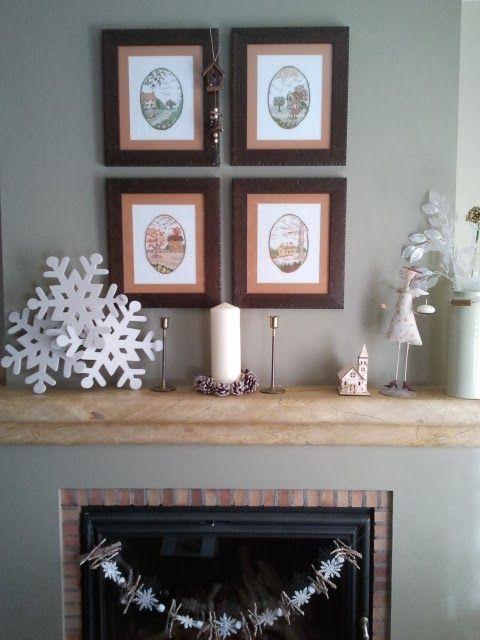 dos estilos para mi chimenea con la navidad de leroy merln