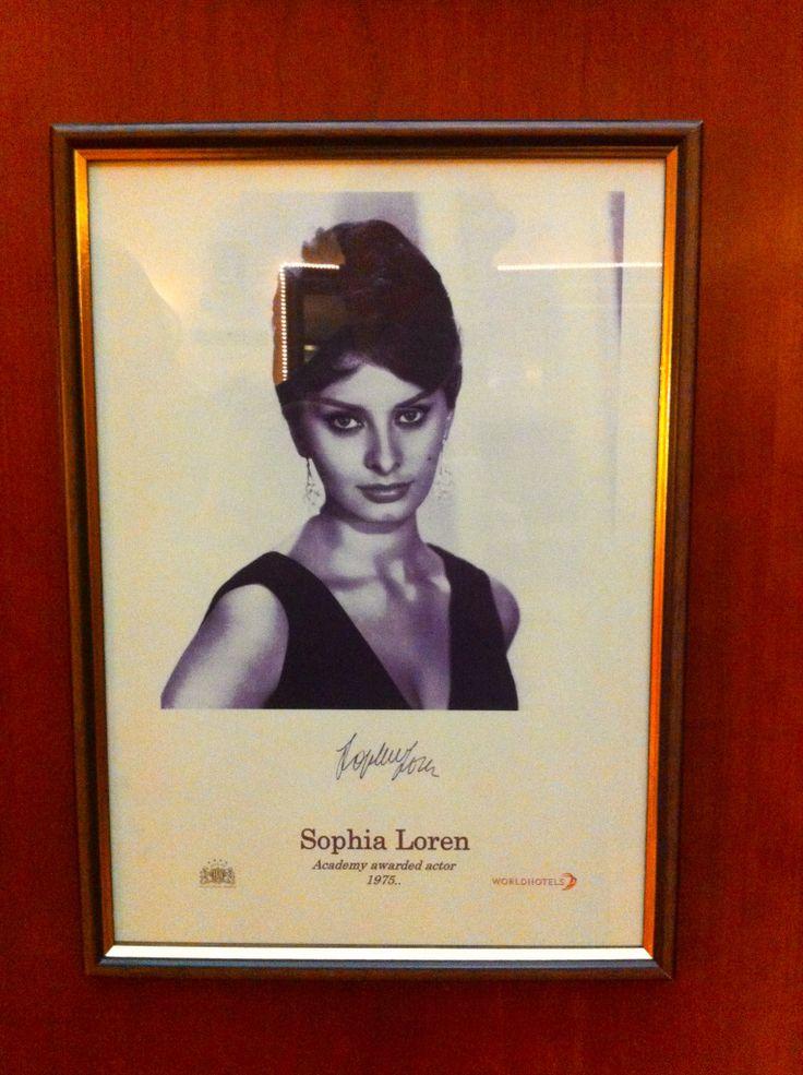 Hotel Dubrovnik, Zagreb Sophia Loren