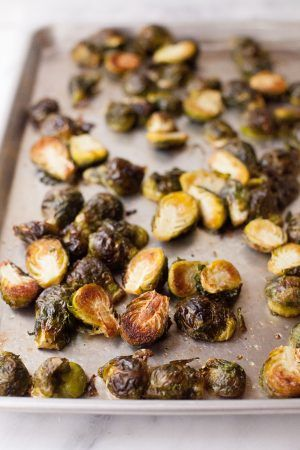 How to Make Perfect Roasted Brussels Sprouts   – little eats
