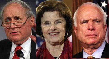 Dianne Feinstein, John McCain, Carl Levin Slam 'Zero Dark Thirty' for Torture Scene
