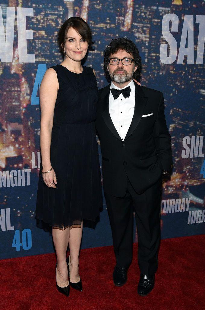 Tina Fey  and husband Jeff Richmond
