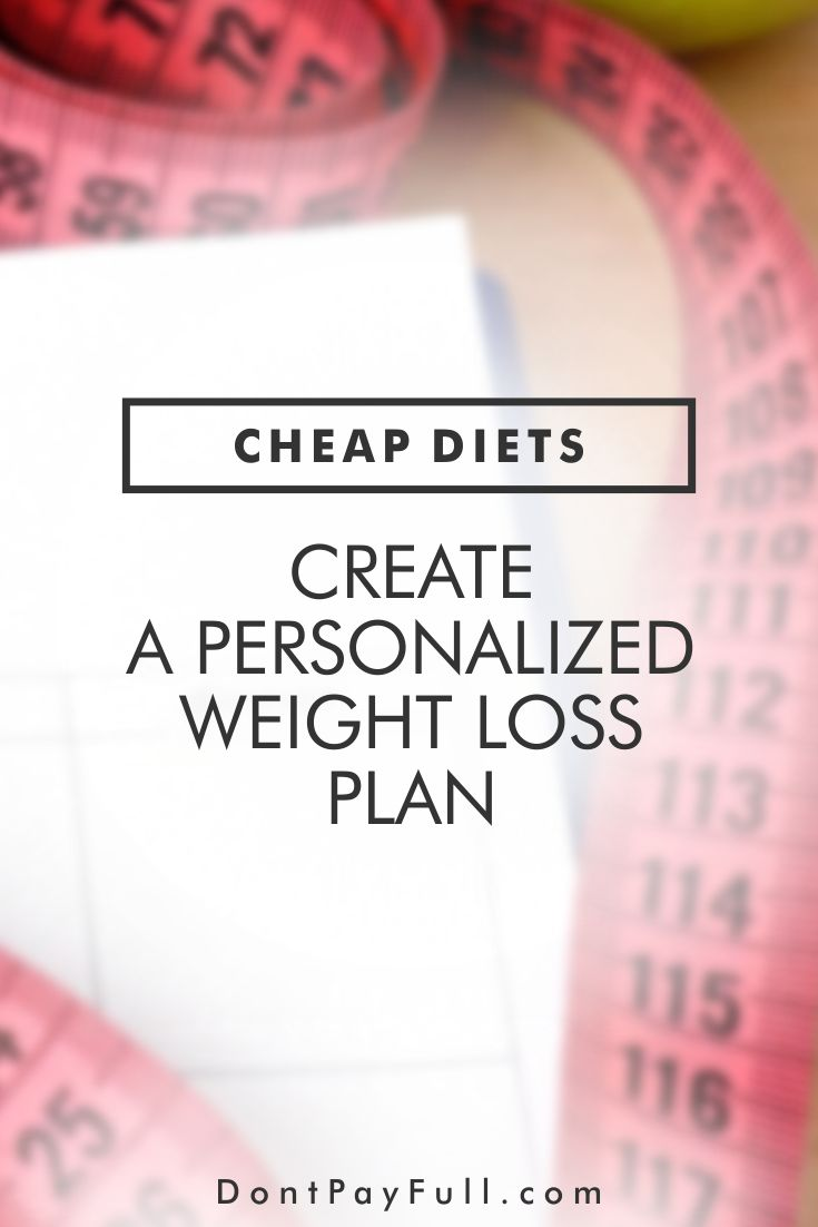 Need to lose some pounds? Always choose the healthy alternative over the fast diet! Try our cheap diets: create a personalized weight loss plan that will never make you starve! #DontPayFull