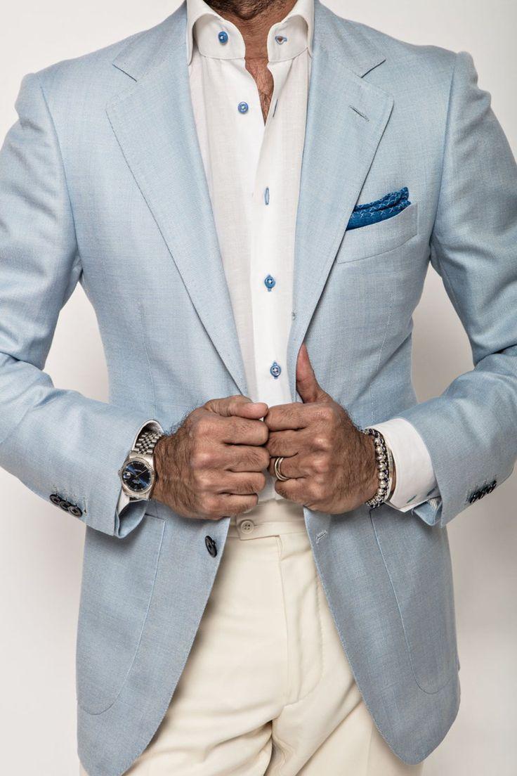 James Sport Coat in Ice Blue in 2020 Casual sport coats