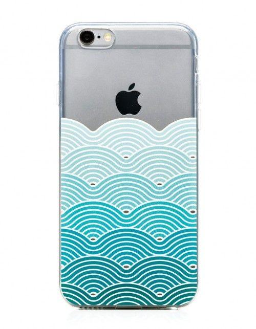 Silikonowe etui z motywem morskich fal, tłoczonych, niesamowity efekt na żywo. Nadruk tłoczony z efektem 3D, wyczuwalny pod palcem, lekko wypukły. 100% satysfakcji. Soczyste kolory. Łatwo się nakłada i ściąga. Produkt dostępny na iPhone 5 (s,se) i 6 (s).
