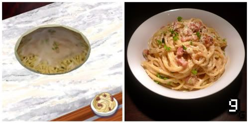 Gourmet Gaming Request: The Sims - Goopy Carbonara