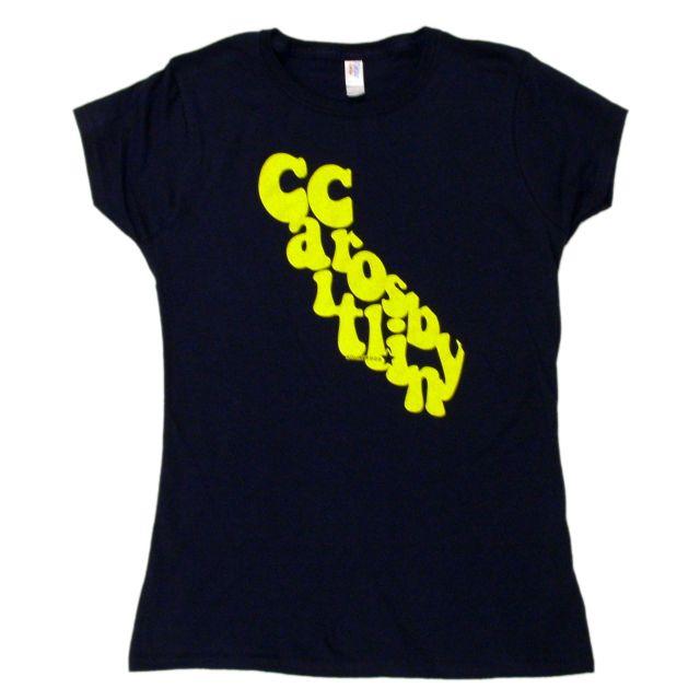 Caitlin Crosby Girls Navy Tee