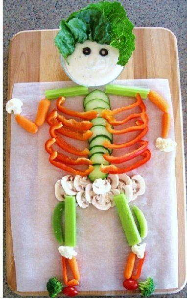 Cute food platter for kids