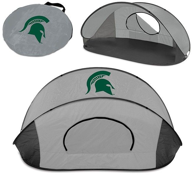 Michigan State University Manta Sun Tent At Campus Den