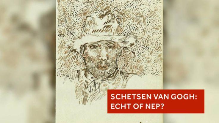In de kunstwereld is commotie ontstaan over werken die zijn opgedoken in een oud kasboek van een café in Frankrijk, waar Van Gogh boven heeft gewoond.