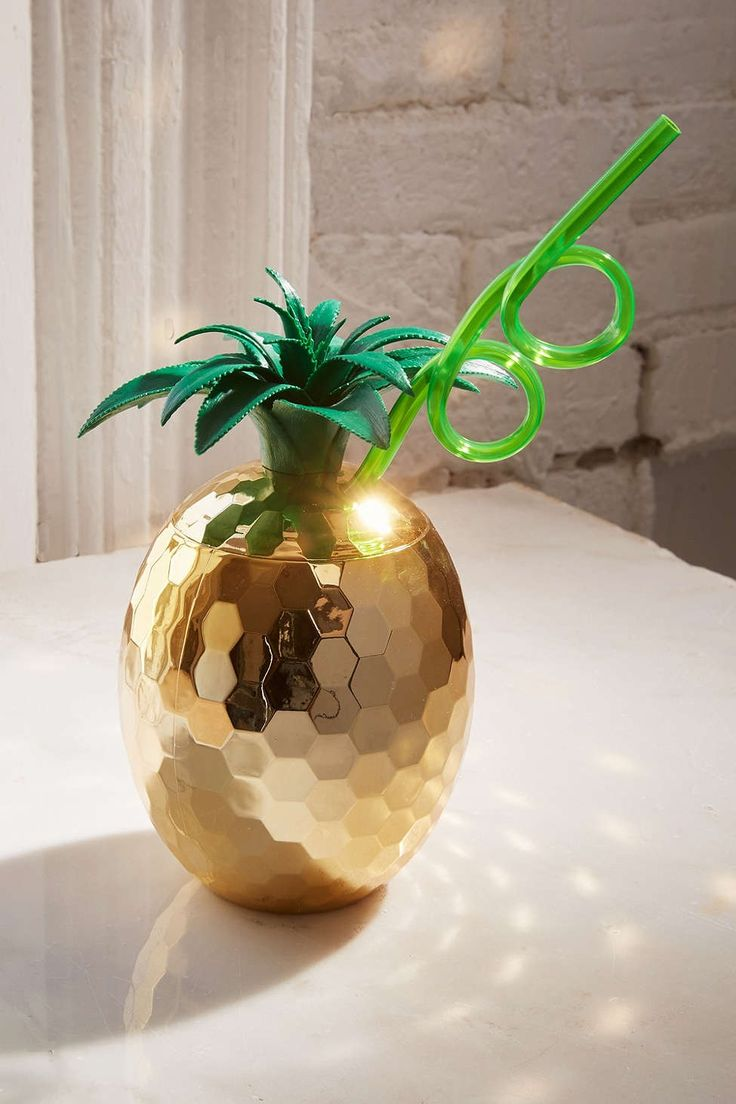 Disco Pineapple Sipper Cup - Urban Outfitters