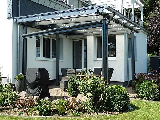 Überdachungen mit Glas wie Terrassenüberdachungen Minden