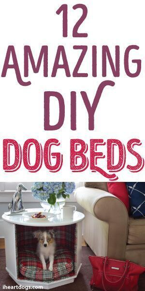 12 Amazing DIY Dog Beds for your pup
