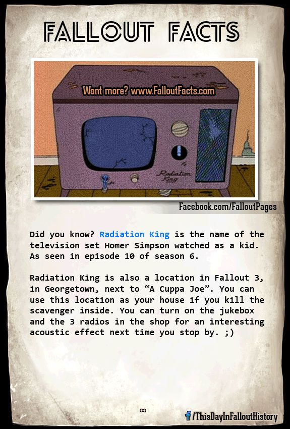 Love fallout facts