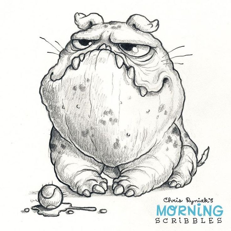 """2,343 Likes, 24 Comments - Chris Ryniak (@chrisryniak) on Instagram: """"I have brought you this present. #morningscribbles"""""""