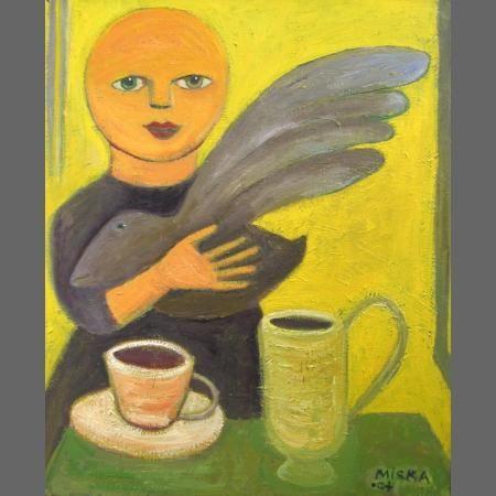 Morning Tea with My Black Bird, 2004