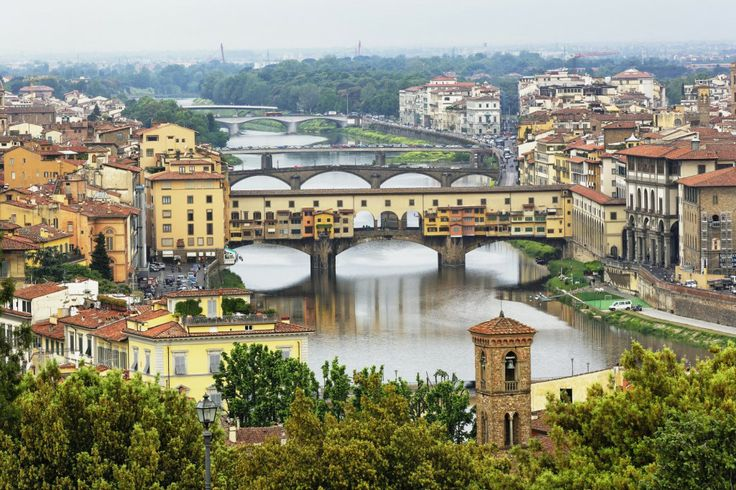 Florence, Italy is so lovely! The art, the history, the food. It would be such a romantic retreat for a couple, and you can travel to nearby towns to explore even more. :)