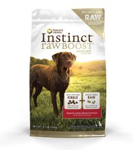 Nature's Variety Instinct Raw Boost Beef Dry Dog Food 4.1lb
