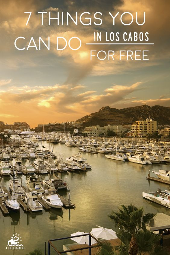 7 things you can do in Los Cabos for free