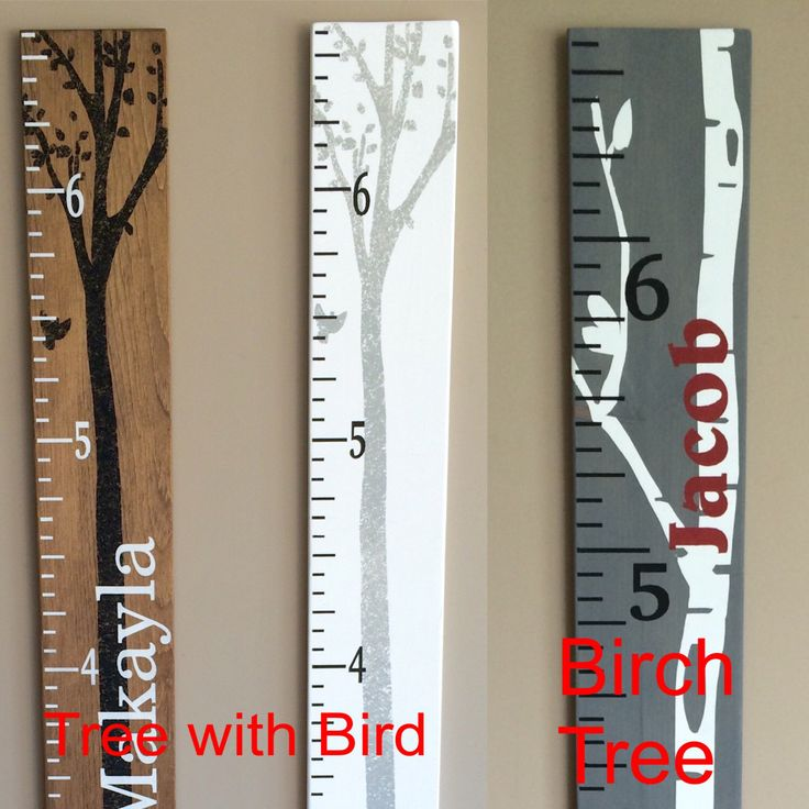 Pin By Mallory Anderson On Playroom Growth Chart Ruler