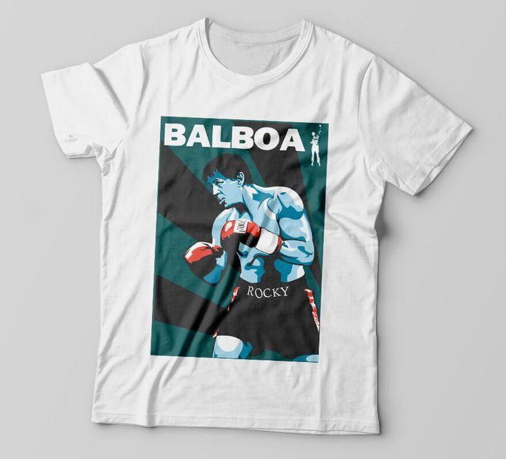 Camiseta Rock Balboa