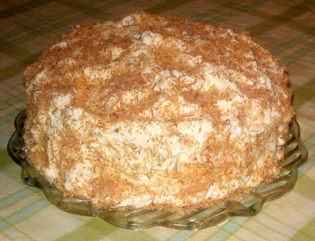 it with either fresh roasted grated coconut or with fresh coconut ...