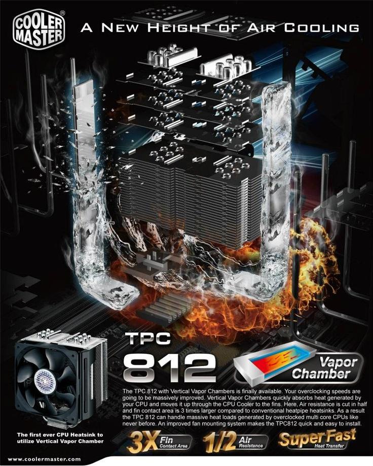 Cooler Master TPC 812 CPU Air Cooler