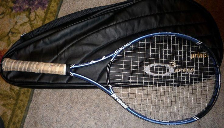 "Prince O3 Hybrid LITE Oversize Tennis Racquet STRUNG 4-1/8"" NICE with Cover  | Sporting Goods, Tennis & Racquet Sports, Tennis | eBay!"