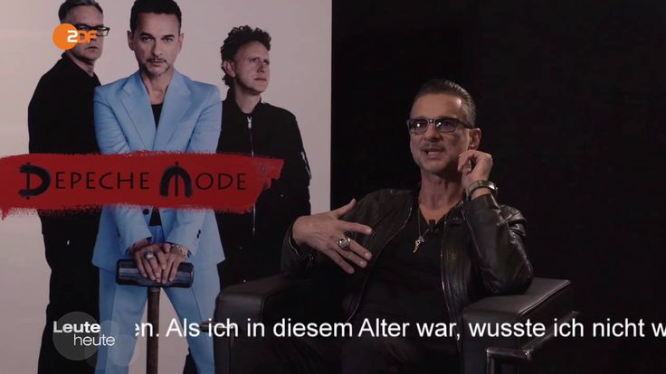 Wonderful and soooo personal..Loooove it  ❤❤❤  Interview mit Dave Gahan - Leute heute | ZDF