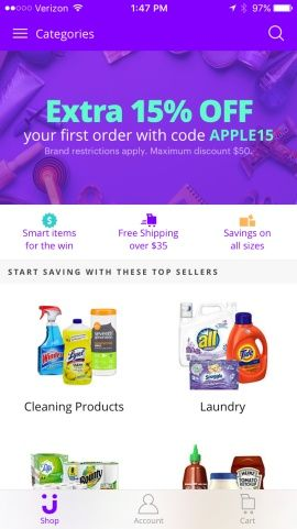 Jet - The Smartest Way to Shop & Save Online, Find the Lowest Prices, Discounts & Deals Screenshots
