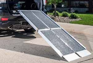 Trifold Wheelchair Ramps for Trucks, Vans and Minivans.