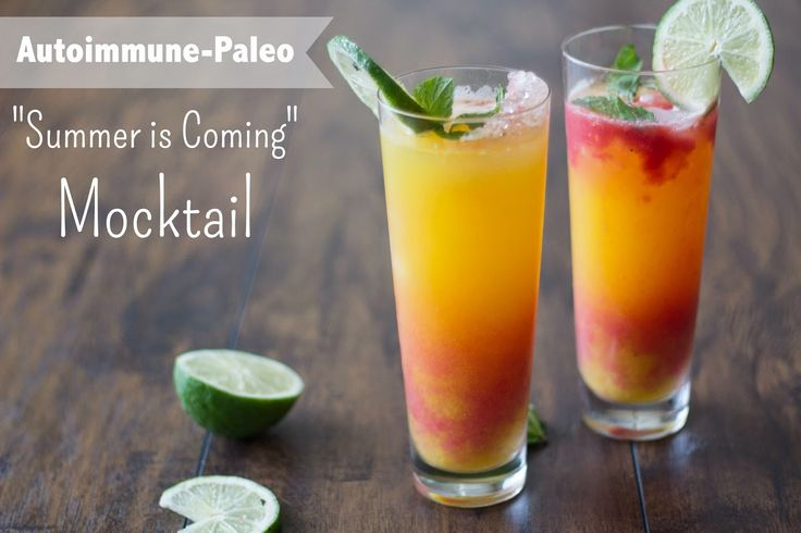Summer is Coming Mocktail - A guest post by Joy Filled Nourishment - AIP Friendly - http://beyondthebite4life.blogspot.com/2015/04/guest-post-autoimmune-paleo-summer-is.html