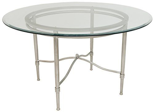 clear glass furniture oval side impacterra pacifica dining table brushed steelclear glass 48