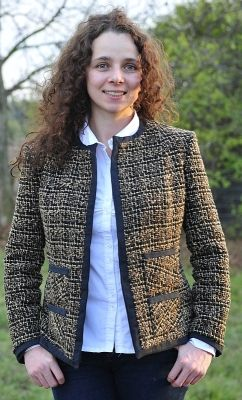 simple Chanel-style jacket (Szanel :) in Polish) free pattern from papavero