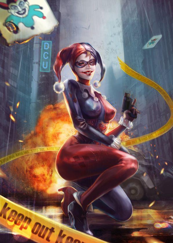 Harley Quinn by jiuge
