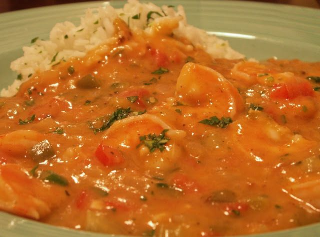 From Nola Cuisine Images - (reedited) The smell of Etouffee, be it Crawfish (my Crawfish Etouffee Recipe) or Shrimp, is one of the most heavenly aromas that I know, along with the smell of Shrimp a...