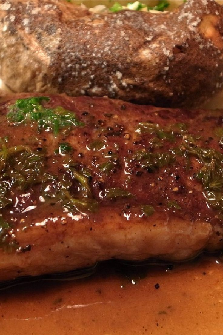 Pan-fried Steak with Marsala Sauce Recipe