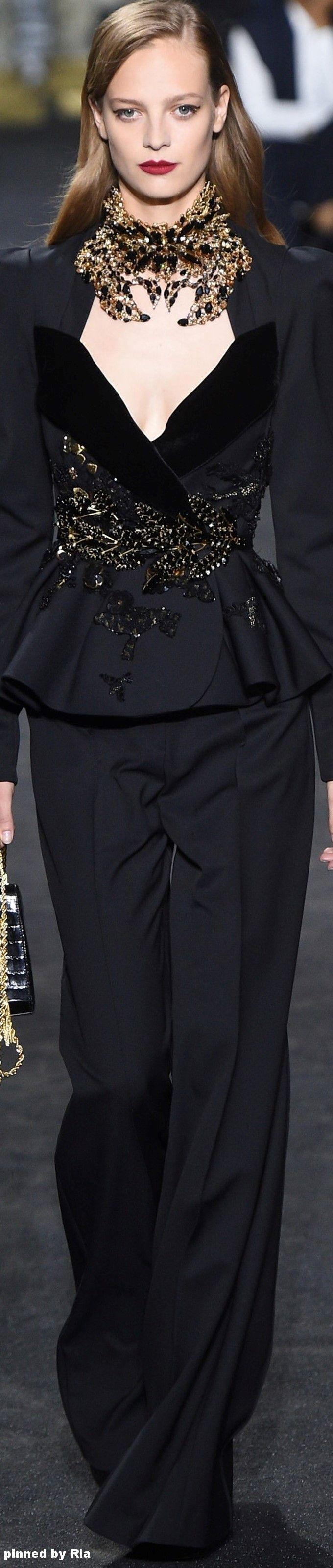 Elie Saab FW 2016-17 Couture l Ria