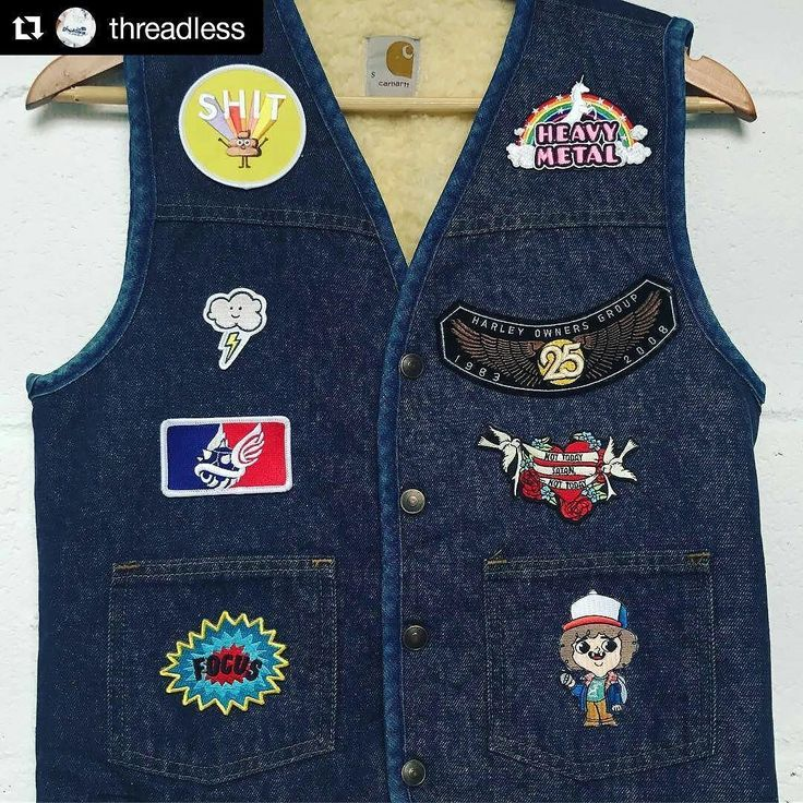 #Repost @threadless  Take your denim vest to the next level with some of our new Patches on sale today at 40% off via the link in our profile - Threadless.com/PPS #metalkutte #heavymetalmusic #heavymetalfans #heavymetalfashion #fashiongod #fashionart #artgifts #parodytee #parody #patches #patch #jeans #patchworkdecke #funnychristmas #giftsforhim #lol #lovethelittlethings #Threadless