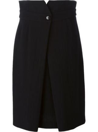 Armani Collezioni двухсторонняя юбка прямого кроя