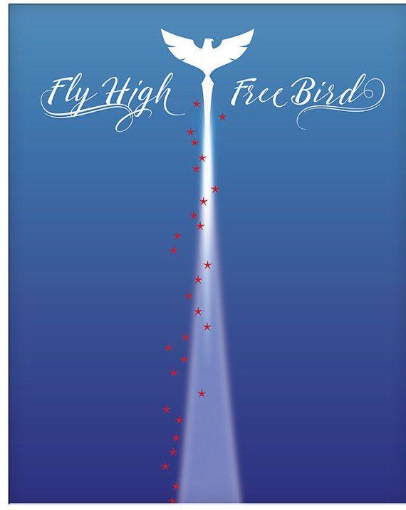 Song Lyric Art Print Free Bird by Lynyrd Skynyrd. Lyric inspired artwork. #BabyBoomer #MusicLyricPoster #ClassicRock #LyricPoster #LyricArtwork #LyricallySpeakingDesigns  #LynyrdSkynyrd #FreeBird www.songlyricsart.com #ebay