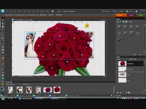Creating Word Art With Photos in Photoshop Elements, part 2