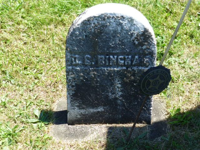 Daniel Galusha Bingham - Civil War Union Army Officer. He served during the Civil War as Colonel and commander of the 64th New York Volunteer Infantry. He was wounded at the Battles of Chancellorsville and Gettysburg, the latter of which eventually forced him to resign in February 1864.