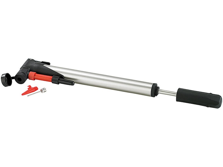 infactory Universal Fahrrad Luftpumpe mit Ventil Fixierung