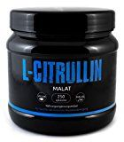 Gym Nutrition L-Citrullin - Malat Pulver Vegan Pre - Workout Booster In Deutscher Premiumqualität Für Eine Bessere Durchblutung, Besseren Pump Und Mehr Leistung Beim Training (Vegan & Halal) 250g